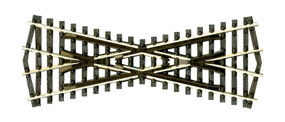 N Code 80 - 25° Kreuzung, Länge 91mm - Peco SL393  | günstig bestellen bei Modelleisenbahn Center  MCS Vertriebs GmbH