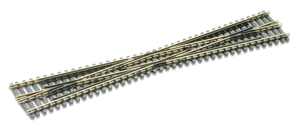 N Code 80 - 8° Kreuzung, Länge 187 mm - Peco SL394  | günstig bestellen bei Modelleisenbahn Center  MCS Vertriebs GmbH