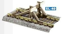 Prellbock aus Stahlprofilen zum Aufsetzen, Bausatz - Peco  - Kunststoff - passend zu Peco H0 Code 100 + Code 75 Gleisen | günstig bestellen bei Modelleisenbahn Center  MCS Vertriebs GmbH