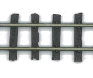 H0e Flex-Gleis mit ungleichmäßigen Holzschwellen, L=914mm - Peco SL400  - Packung mit 4 Stück | günstig bestellen bei Modelleisenbahn Center  MCS Vertriebs GmbH