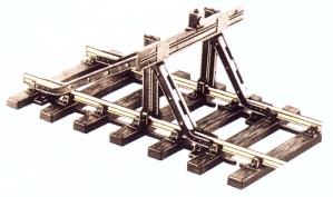Spur 0 Code 124 Prellbock, Stahlprofilausführung  | günstig bestellen bei Modelleisenbahn Center  MCS Vertriebs GmbH