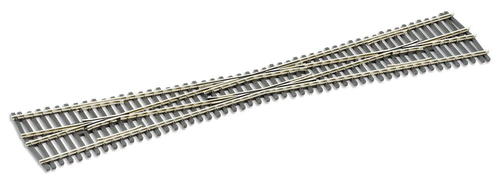 H0 Code 83 Kreuzung mit 9,5° - Peco  - mit leitendem Herzstück | günstig bestellen bei Modelleisenbahn Center  MCS Vertriebs GmbH