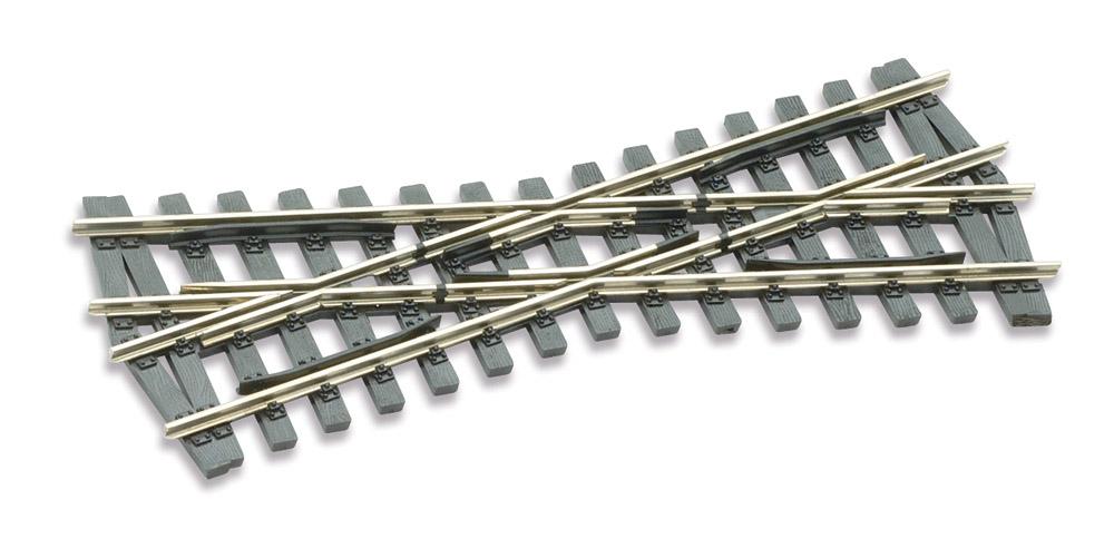 H0m Kreuzung 20°, L=117mm - Peco SLE 1493 mit leitendem Herzstück | günstig bestellen bei Modelleisenbahn Center  MCS Vertriebs GmbH