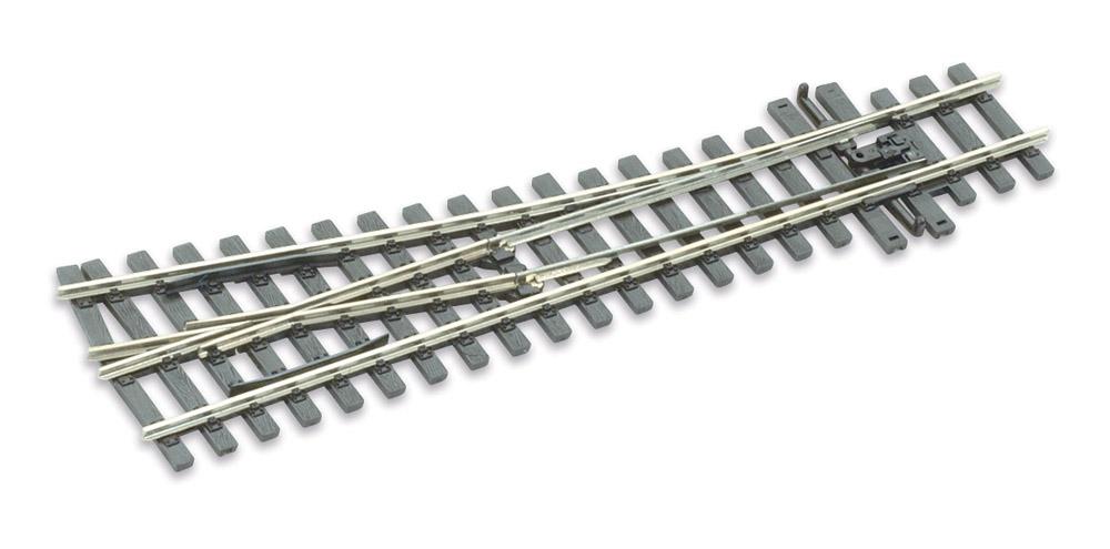 H0m Weiche rechts 10°, L=160mm - Peco SLE 1495 mit leitendem Herzstück | günstig bestellen bei Modelleisenbahn Center  MCS Vertriebs GmbH
