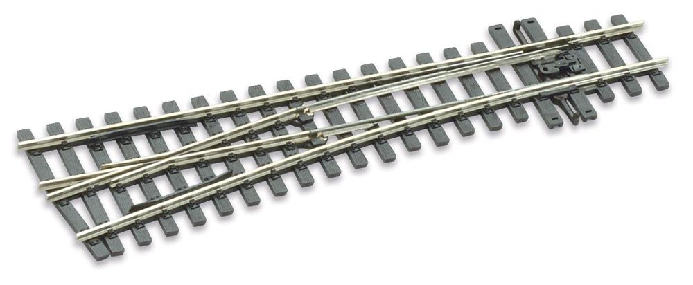 H0m Weiche links 10°, L=160mm - Peco SLE 1496 mit leitendem Herzstück | günstig bestellen bei Modelleisenbahn Center  MCS Vertriebs GmbH