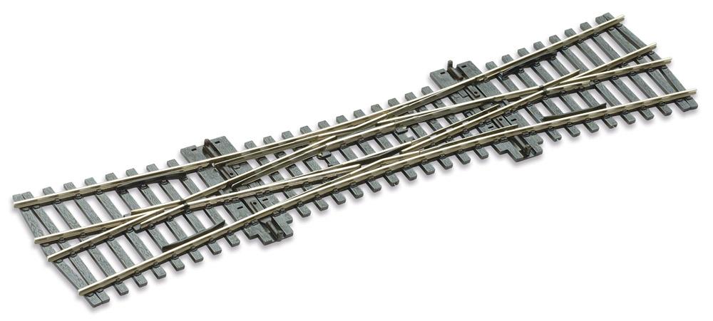 H0 Code 75 DKW 12°, L=249mm - Peco SLE190 Doppelte Kreuzungsweiche, R = 800mm | günstig bestellen bei Modelleisenbahn Center  MCS Vertriebs GmbH