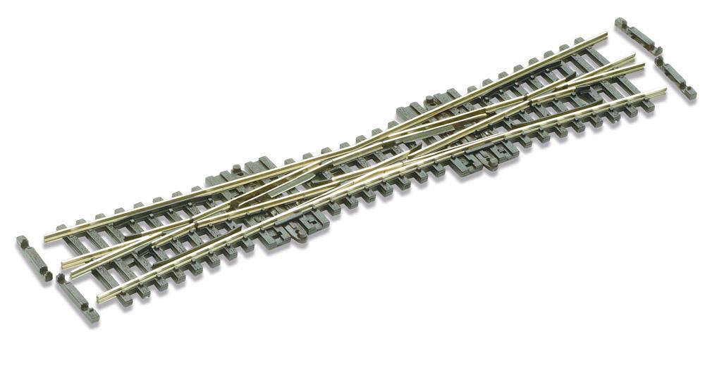 N Code 55 - 10° Einfache Kreuzungsweiche, Länge 154 mm - Peco SLE380F Radius 511 mm | günstig bestellen bei Modelleisenbahn Center  MCS Vertriebs GmbH