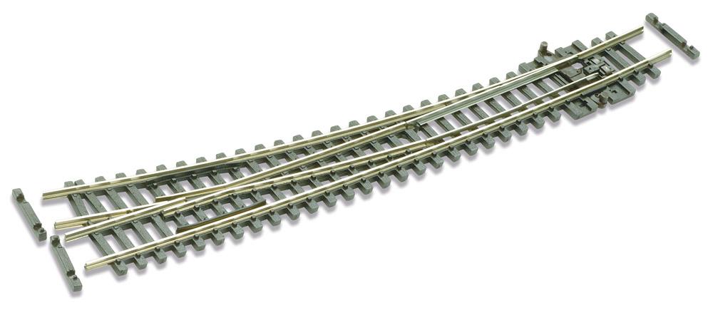 N Code 55 - 10° Bogenweiche rechts, Länge 159,5 mm - Peco SLE386F Außenradius 914 mm, Innenradius 457 mm | günstig bestellen bei Modelleisenbahn Center  MCS Vertriebs GmbH