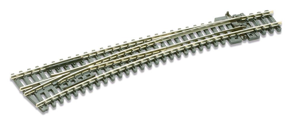 N Code 80 - 10° Bogenweiche links, Länge 157 mm - Peco SLE 387 Außenradius 914 mm, Innenradius 457 mm | günstig bestellen bei Modelleisenbahn Center  MCS Vertriebs GmbH