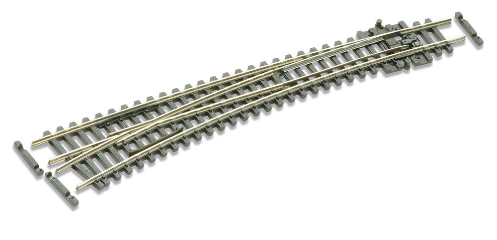N Code 55 - 10° Bogenweiche links, Länge 159,5 mm - Peco SLE387F Außenradius 914 mm, Innenradius 457 mm | günstig bestellen bei Modelleisenbahn Center  MCS Vertriebs GmbH