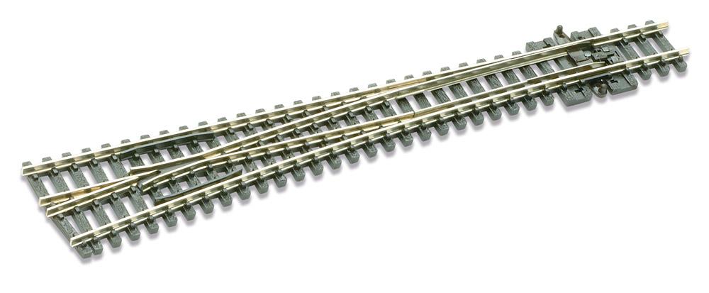 N Code 80 - 8° Weiche links, Länge 160 mm - Peco SLE 389 Großer Radius 914 mm | günstig bestellen bei Modelleisenbahn Center  MCS Vertriebs GmbH