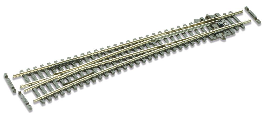 N Code 55 - 10° Weiche links, Länge 164 mm - Peco SLE389F Großer Radius 914 mm | günstig bestellen bei Modelleisenbahn Center  MCS Vertriebs GmbH