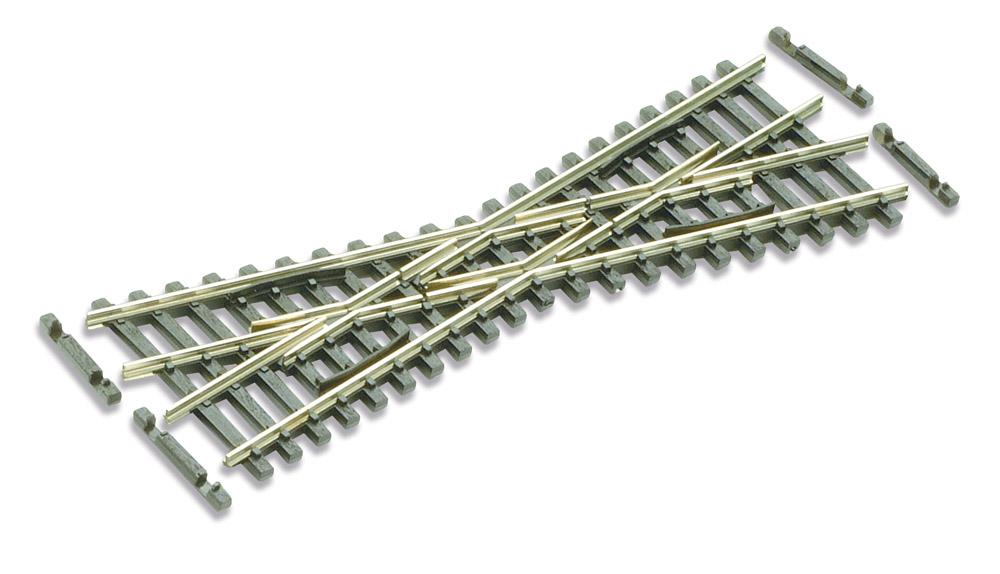 N Code 55 - 20° Kurze Kreuzung, Länge 103,7 mm - Peco SLE393F  | günstig bestellen bei Modelleisenbahn Center  MCS Vertriebs GmbH
