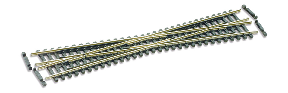 N Code 55 - 10° Kreuzung, Länge 154 mm - Peco SLE394F  | günstig bestellen bei Modelleisenbahn Center  MCS Vertriebs GmbH