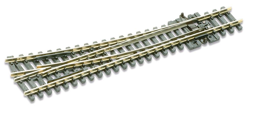 N Code 80 - 14° Weiche rechts, Länge 124 mm - Peco SLE 395 Mittlerer Radius 457 mm | günstig bestellen bei Modelleisenbahn Center  MCS Vertriebs GmbH