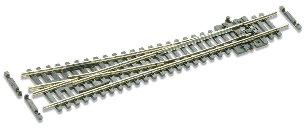N Code 55 - 10° Weiche rechts, Länge 137 mm - Peco SL-U395F Mittlerer Radius 457 mm | günstig bestellen bei Modelleisenbahn Center  MCS Vertriebs GmbH