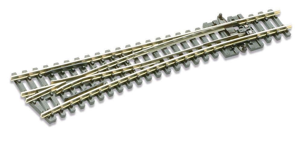 N Code 80 - 14° Weiche links, Länge 124 mm - Peco SLE396 Mittlerer Radius 457 mm | günstig bestellen bei Modelleisenbahn Center  MCS Vertriebs GmbH