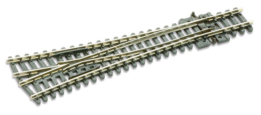 N Code 80 - 8° Y-Weiche, Länge 127 mm - Peco SLE397 Großer Radius 762 mm | günstig bestellen bei Modelleisenbahn Center  MCS Vertriebs GmbH