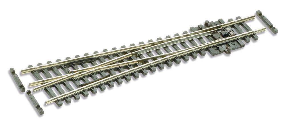 N Code 55 - 10° Y-Weiche, Länge 124 mm - Peco SLE397F Radius 610 mm | günstig bestellen bei Modelleisenbahn Center  MCS Vertriebs GmbH