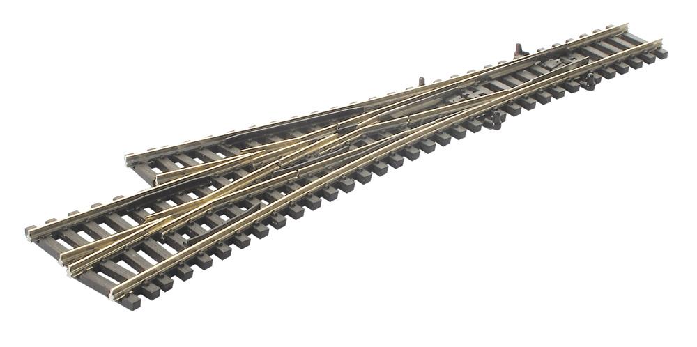 N Code 55 - 3-Weg-Weiche, Länge 153mm - Peco SLE399F  - Radius 457 mm | günstig bestellen bei Modelleisenbahn Center  MCS Vertriebs GmbH