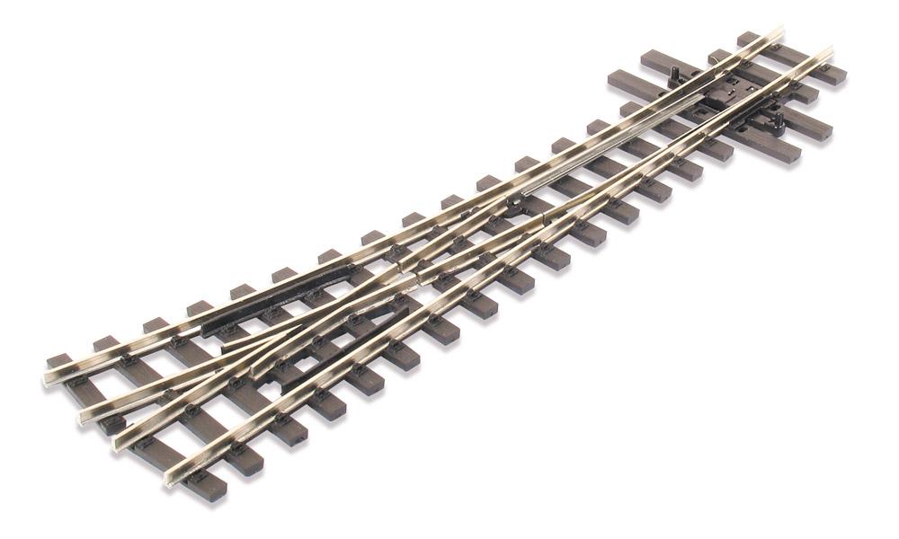 H0e Weiche rechts, 14°, R=457mm - Peco SLE495 mit leitendem Herzstück | günstig bestellen bei Modelleisenbahn Center  MCS Vertriebs GmbH