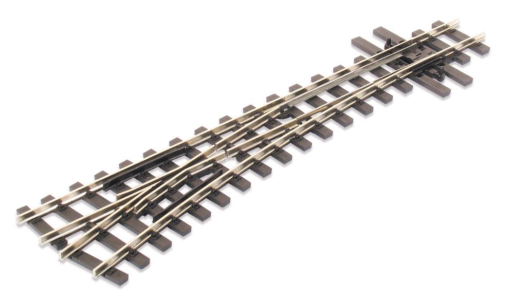 H0e Weiche links, 14°, R=457mm - Peco SLE496 mit leitendem Herzstück | günstig bestellen bei Modelleisenbahn Center  MCS Vertriebs GmbH