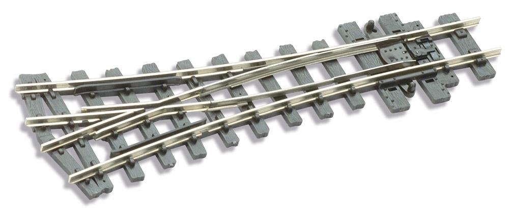 H0e Y-Weiche 22,5° - Peco SLE497 mit leitendem Herzstück | günstig bestellen bei Modelleisenbahn Center  MCS Vertriebs GmbH