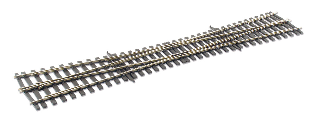 Spur 0 Code 124 DKW 8° links, L=584mm - Peco  | günstig bestellen bei Modelleisenbahn Center  MCS Vertriebs GmbH
