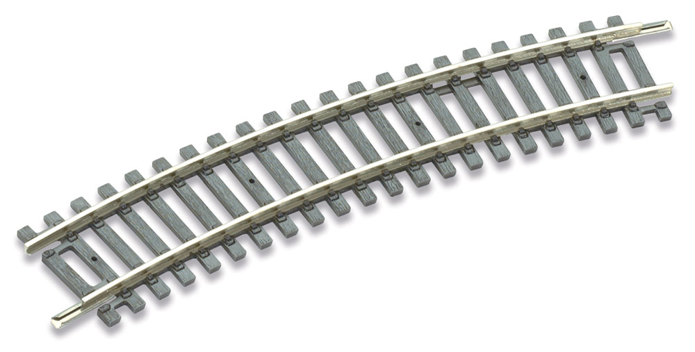 H0 Code 100 gebogenes Gleis R1, 22,5°, 8 Stück – Peco  | günstig bestellen bei Modelleisenbahn Center  MCS Vertriebs GmbH