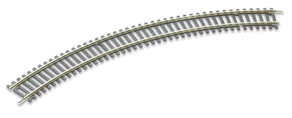 H0 Code 100 gebogenes Gleis R1, 45°, 4 Stück – Peco  | günstig bestellen bei Modelleisenbahn Center  MCS Vertriebs GmbH