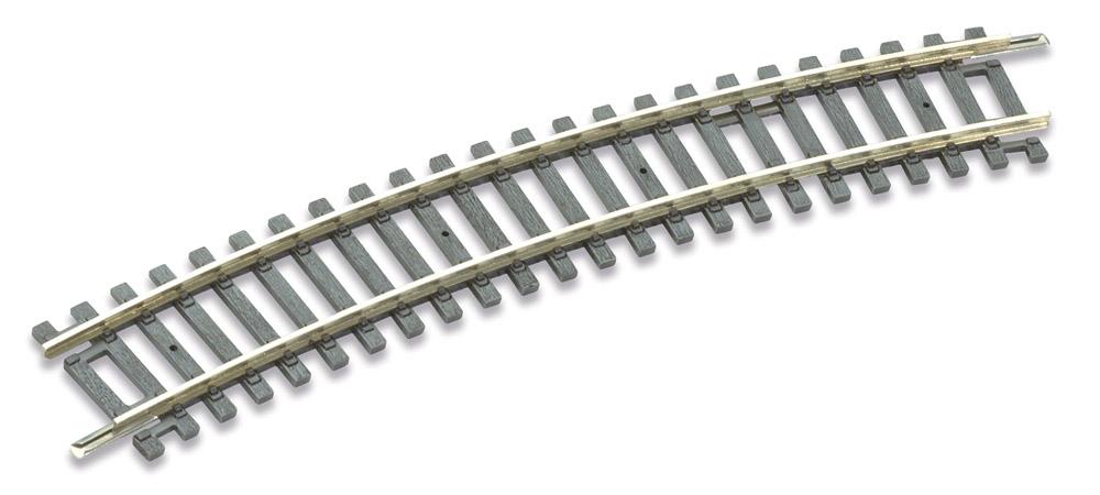 H0 Code 100 gebogenes Gleis R2, 22,5°, 8 Stück – Peco  | günstig bestellen bei Modelleisenbahn Center  MCS Vertriebs GmbH