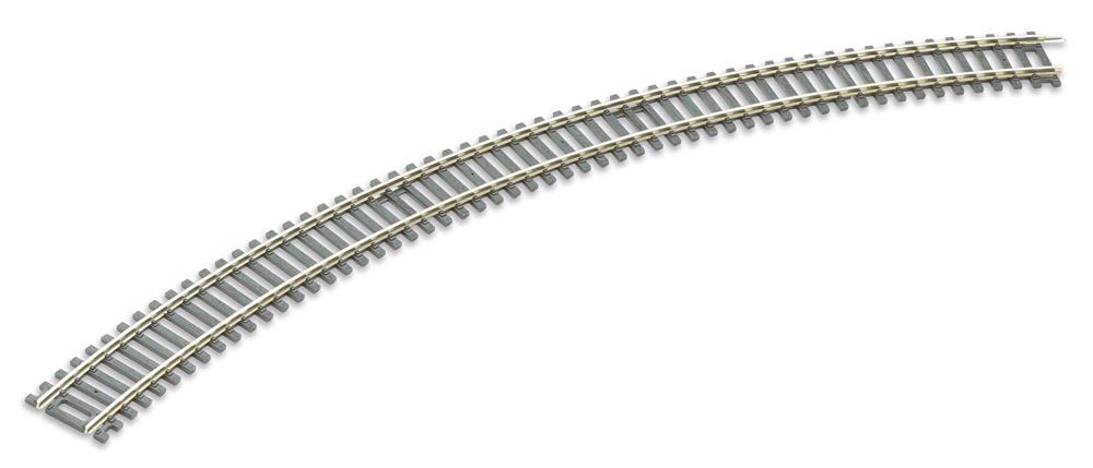 H0 Code 100 gebogenes Gleis R3, 45°, 4 Stück – Peco  | günstig bestellen bei Modelleisenbahn Center  MCS Vertriebs GmbH