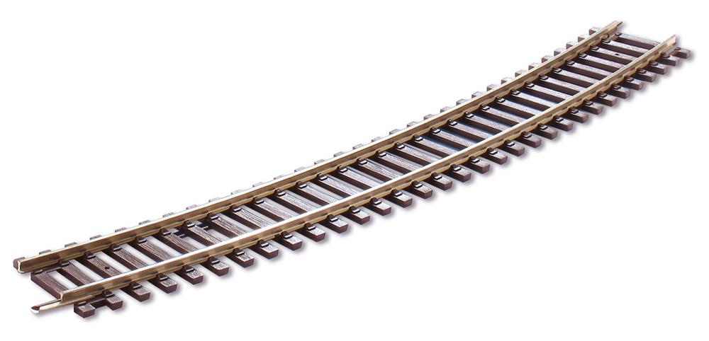 H0 Code 100 gebogenes Gleis R4, 22,5°, 8 Stück – Peco  | günstig bestellen bei Modelleisenbahn Center  MCS Vertriebs GmbH