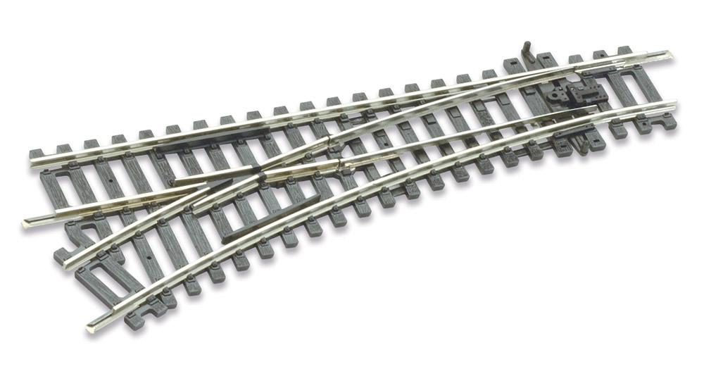H0 C100 Weiche links R=438mm, 22,5° – Peco  | günstig bestellen bei Modelleisenbahn Center  MCS Vertriebs GmbH