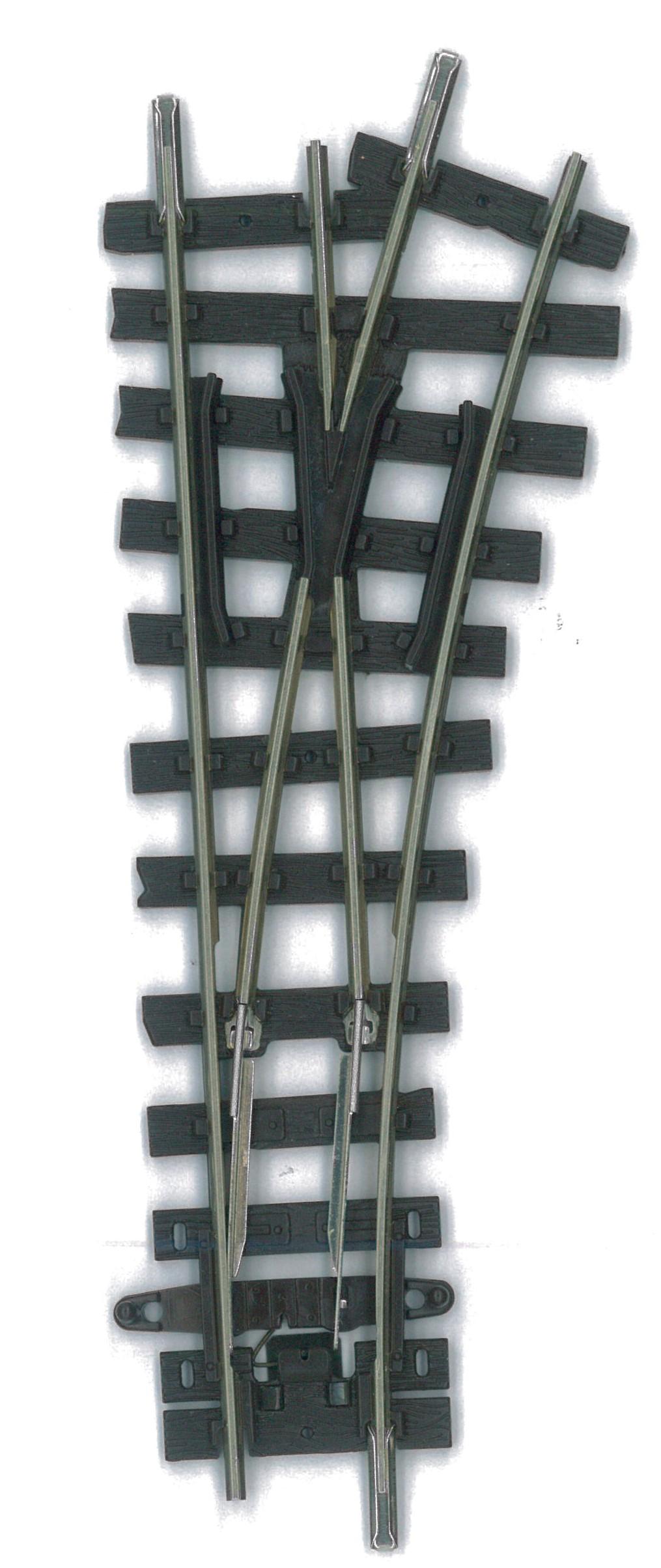 H0e Weiche kurz rechts, R=228mm - Peco  | günstig bestellen bei Modelleisenbahn Center  MCS Vertriebs GmbH