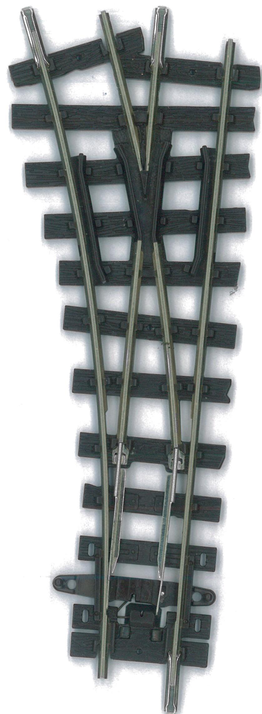 H0e Weiche kurz links, R=228mm - Peco  | günstig bestellen bei Modelleisenbahn Center  MCS Vertriebs GmbH