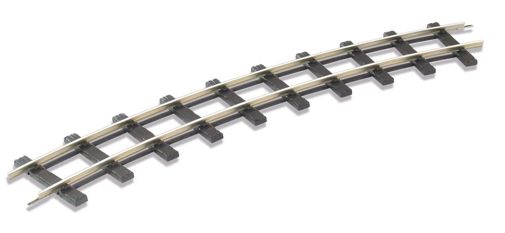 Spur 1m Schmalspur gebogenes Gleis 30°, R1=762mm - Peco - Packung mit  6 Stück | günstig bestellen bei Modelleisenbahn Center  MCS Vertriebs GmbH