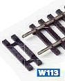 H0 ausgesparte Schwellen für Schienenverbinder, 15 Paar - Peco  | günstig bestellen bei Modelleisenbahn Center  MCS Vertriebs GmbH