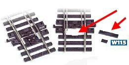 H0 Schwellenfüllstücke für Weichen, 5 Satz - Peco  | günstig bestellen bei Modelleisenbahn Center  MCS Vertriebs GmbH