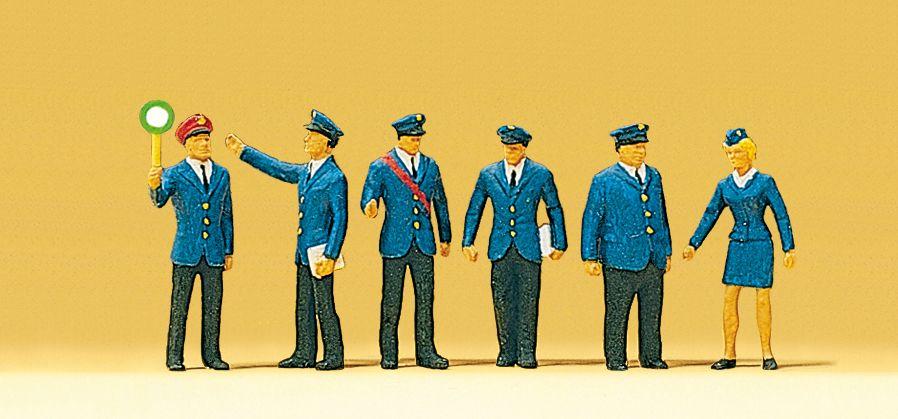 1:87 Bahnpersonal DB - Preiser 10011 Art.Nr.663-10011