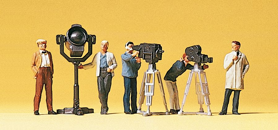 1:87 Filmteam - Preiser 10062  | günstig bestellen bei Modelleisenbahn Center  MCS Vertriebs GmbH