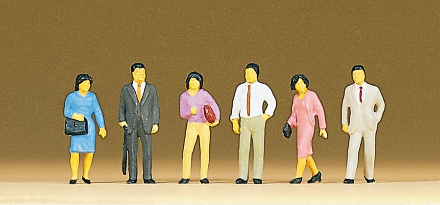 1:87 Japanerinnen und Japaner - Preiser 10119 Art.Nr.663-10119