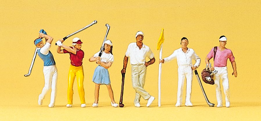 1:87 Golfspieler - Preiser 10231    günstig bestellen bei Modelleisenbahn Center  MCS Vertriebs GmbH