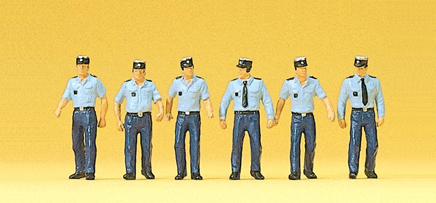 1:87 Polizisten, französisch in Sommeruniform- Preiser 10341  | günstig bestellen bei Modelleisenbahn Center  MCS Vertriebs GmbH