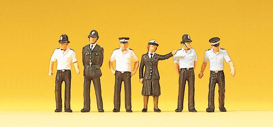 1:87 Polizisten England - Preiser 10371 Art.Nr.663-10371