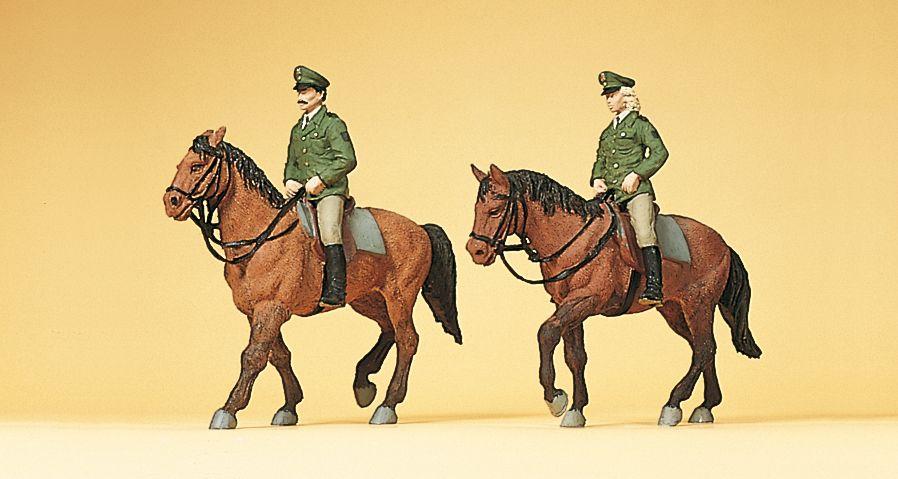 1:87 Polizei zu Pferd - Preiser 10390  | günstig bestellen bei Modelleisenbahn Center  MCS Vertriebs GmbH