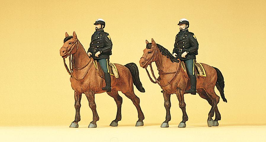 1:87 Polizei USA zu Pferd - Preiser 10397  | günstig bestellen bei Modelleisenbahn Center  MCS Vertriebs GmbH