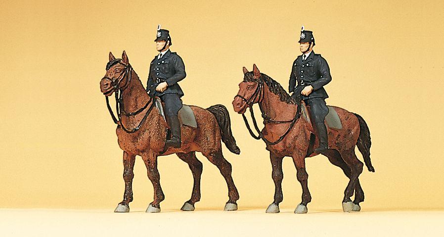 1:87 Polizei zu Pferd um 1960 - Preiser 10399  | günstig bestellen bei Modelleisenbahn Center  MCS Vertriebs GmbH