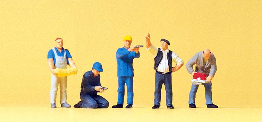 1:87 Handwerker - Preiser 10498 Art.Nr.663-10498