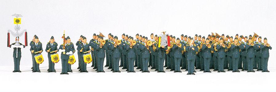 1:87 Superset: Musikkorps der Luftwaffe BRD - Preiser - Inhalt s. Details | günstig bestellen bei Modelleisenbahn Center  MCS Vertriebs GmbH